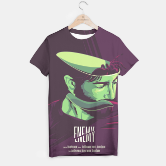 Thumbnail image of Enemy - Alternative movie poster T-shirt, Live Heroes