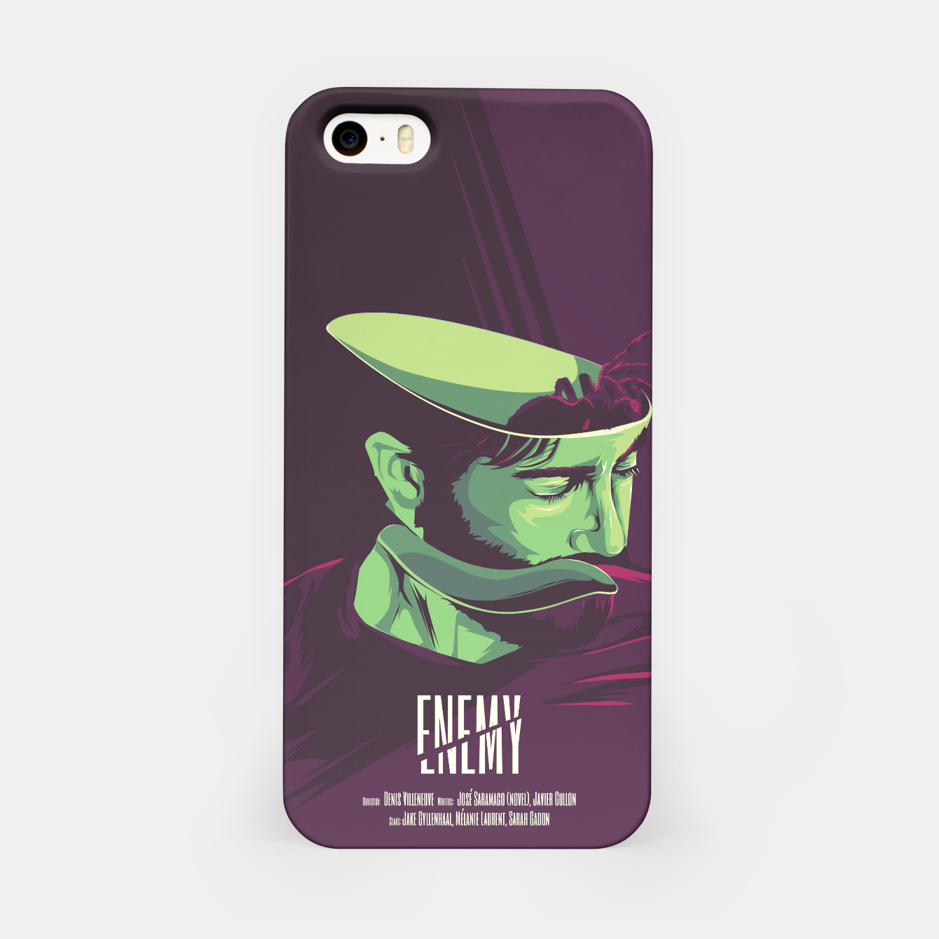 Image of Enemy - Alternative movie poster iPhone Case - Live Heroes
