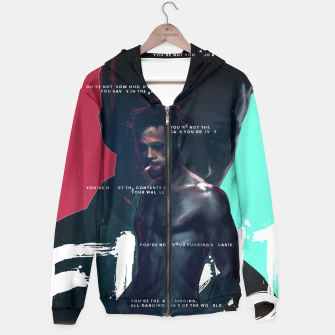 Thumbnail image of Fight Club - Alternative movie poster Hoodie, Live Heroes