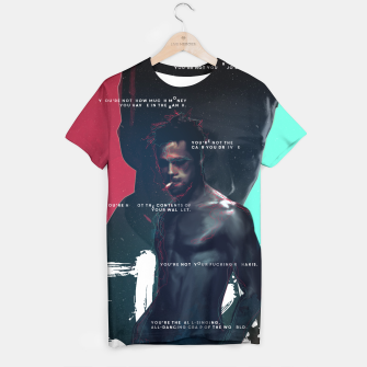Thumbnail image of Fight Club - Alternative movie poster T-shirt, Live Heroes