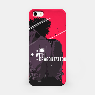 Thumbnail image of The Girl with Dragon Tatoo iPhone Case, Live Heroes