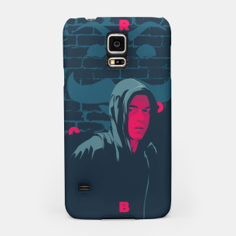 Thumbnail image of mr robot Samsung Case, Live Heroes