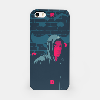Thumbnail image of mr robot iPhone Case, Live Heroes