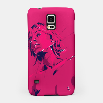 Thumbnail image of mullholland drive Samsung Case, Live Heroes