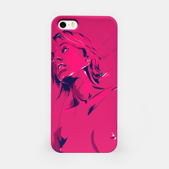 Thumbnail image of mullholland drive iPhone Case, Live Heroes