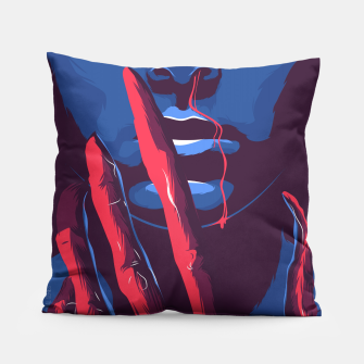 Thumbnail image of Stranger Things Pillow, Live Heroes