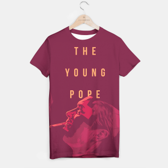 Thumbnail image of Young Pope T-shirt, Live Heroes