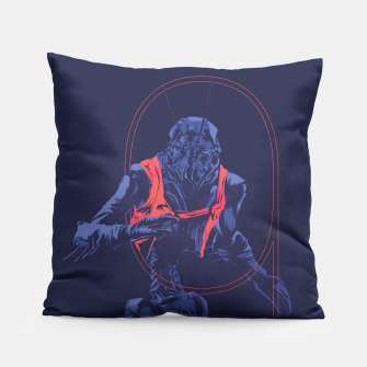 Thumbnail image of Dristict 9 Pillow, Live Heroes