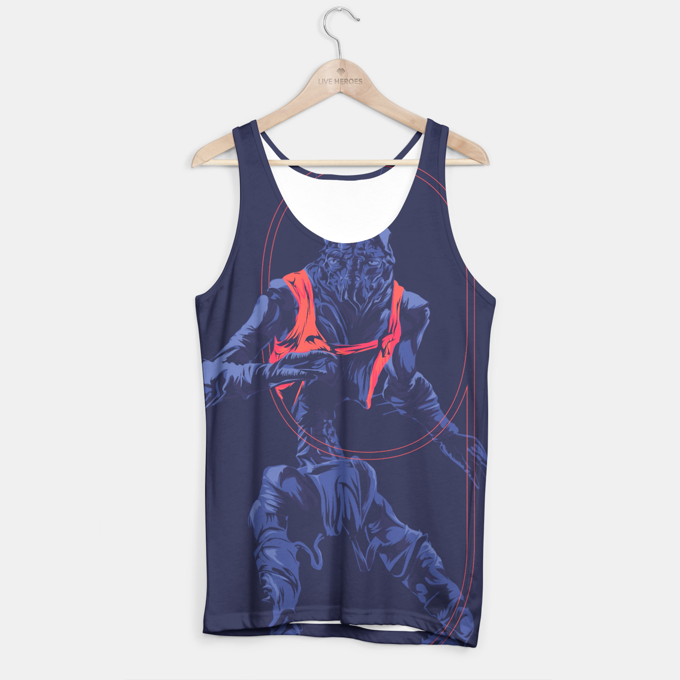 Image of Dristict 9 Tank Top - Live Heroes
