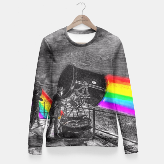 Miniature de image de Turn the spotlight on, send the colors. Fitted Waist Sweater, Live Heroes