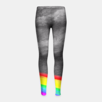 Miniature de image de Turn the spotlight on, send the colors. Girl's Leggings, Live Heroes