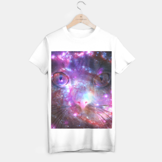 Thumbnail image of Cat Galáxia T-shirt regular, Live Heroes
