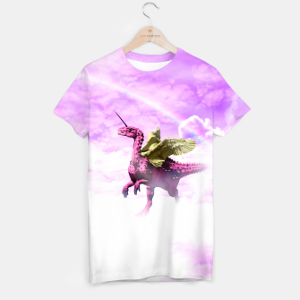 Thumbnail image of Pink Lovely Dinosaur ♥ [Crazy Wildlife] T-shirt, Live Heroes