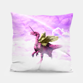 Pink Lovely Dinosaur ♥ [Crazy Wildlife] Coussin thumbnail image