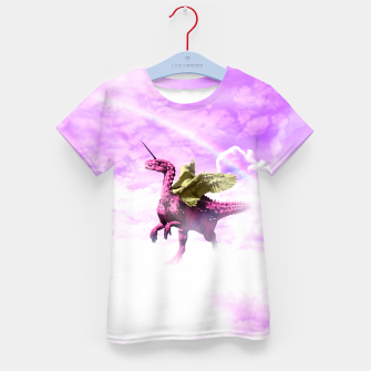 Pink Lovely Dinosaur ♥ [Crazy Wildlife] Enfantin T-shirt thumbnail image