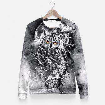 OWL BW Fitted Waist Sweater thumbnail image