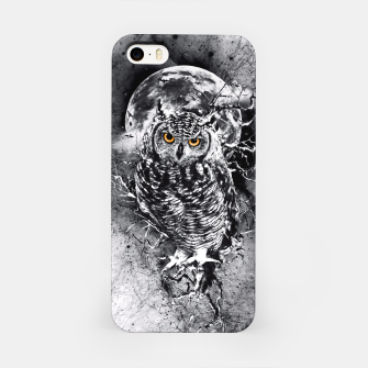 OWL BW iPhone Case thumbnail image