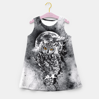 Thumbnail image of OWL BW Girl's Summer Dress, Live Heroes