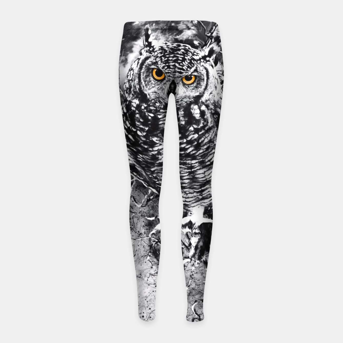 Image of OWL BW Girl's Leggings - Live Heroes