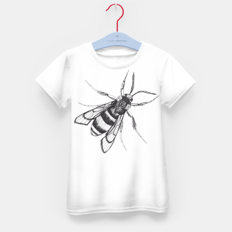 Thumbnail image of Bee Kid's T-shirt, Live Heroes