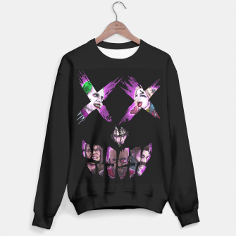 Suicide Face (color) Sudadera Regular thumbnail image