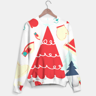 Thumbnail image of Christmas Tree red Sweater, Live Heroes