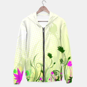Thumbnail image of Fantasy abstract flowers Hoodie, Live Heroes