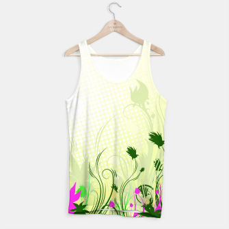 Fantasy abstract flowers Tank Top thumbnail image
