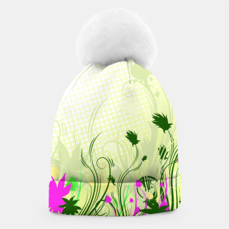 Fantasy abstract flowers Beanie thumbnail image