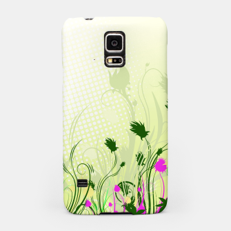 Fantasy abstract flowers Samsung Case thumbnail image