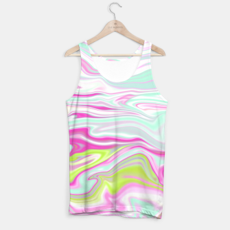Thumbnail image of Colorful Iridescent Marble Design Muskelshirt , Live Heroes