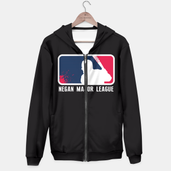 Miniaturka Negan Major League Sudadera con capucha, Live Heroes
