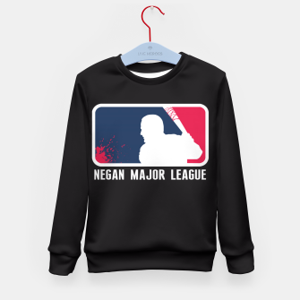 Miniaturka Negan Major League Sudadera para niños, Live Heroes