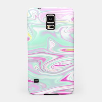 Thumbnail image of Colorful Iridescent Marble Design Handyhülle für Samsung, Live Heroes