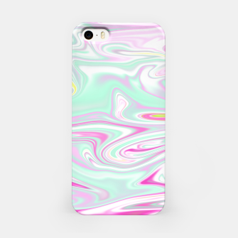 Thumbnail image of Colorful Iridescent Marble Design iPhone-Hülle, Live Heroes