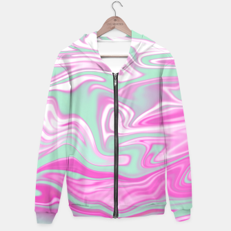 Thumbnail image of Colorful Iridescent Marble Design Kapuzenpullover, Live Heroes