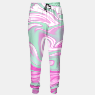 Thumbnail image of Colorful Iridescent Marble Design Trainingshose, Live Heroes