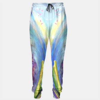 Thumbnail image of Mystical abstract fantasy Sweatpants, Live Heroes