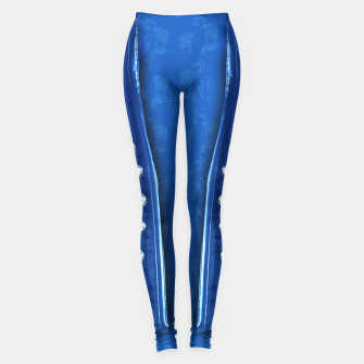 3D textured unisex fitted design Leggings thumbnail image