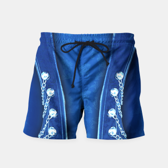 3D textured unisex fitted design Swim Shorts thumbnail image