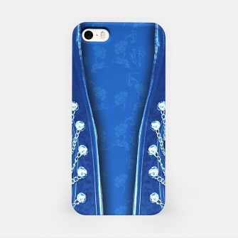 3D textured unisex fitted design iPhone Case thumbnail image