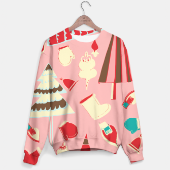 Thumbnail image of christmas vintage pink Sweater, Live Heroes