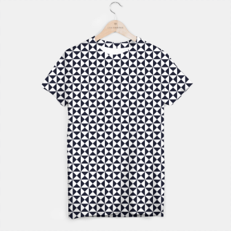 Basic Shapes Black and White T-shirt obraz miniatury