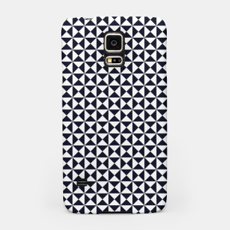 Miniaturka Basic Shapes Black and White Samsung Case, Live Heroes
