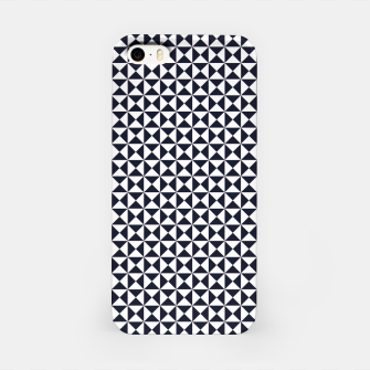 Basic Shapes Black and White iPhone Case obraz miniatury