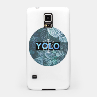 Miniatur YOLO Samsung Case, Live Heroes
