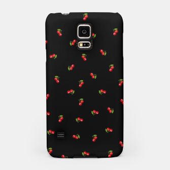 Thumbnail image of Dark Delicate Cherry Samsung Case, Live Heroes