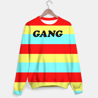 Thumbnail image of colourful gang Sweater, Live Heroes
