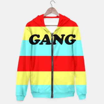 Thumbnail image of colourful gang Hoodie, Live Heroes