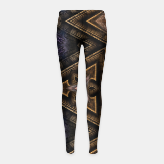 Thumbnail image of APHS5200-235813 Girl's Leggings, Live Heroes